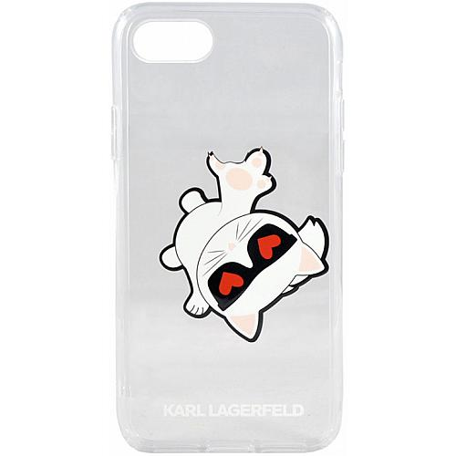 Фото №3. Задняя накладка Lagerfeld TPU collection Choupette Apple Hard 2 для Apple iPhone 7/8